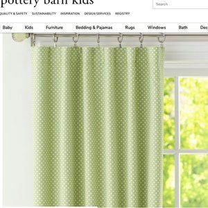 Pottery Barn Kids Blackout Curtain Set